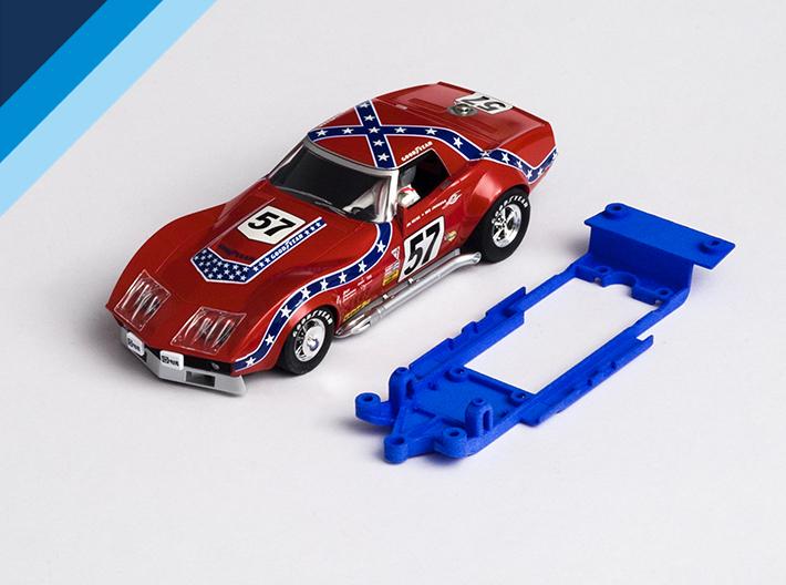 Chasis Olifer para Chevrolet Corvette L88 de SuperSlot para bancada Slot.it sidewinder