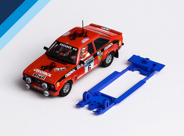 Chasis Olifer para Ford Escort RS1800 de Scalextric (SCX)