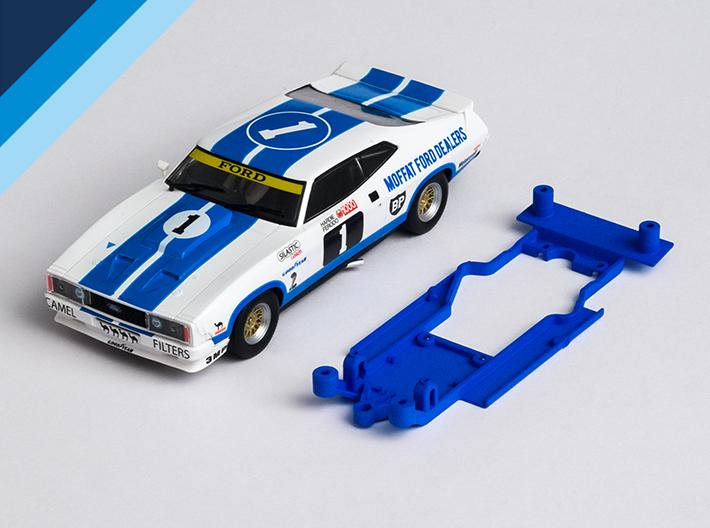 Chasis Olifer para Ford Falcon XB / XC de SuperSlot para bancada Slot.it anglewinder
