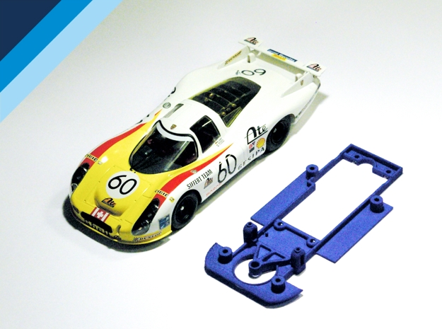 Chasis Olifer para Porsche 907 y 908 de SRC