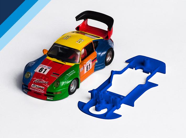 Chasis Olifer para Porsche 911GT2 de ProSlot para bancada Slot.it anglewinder